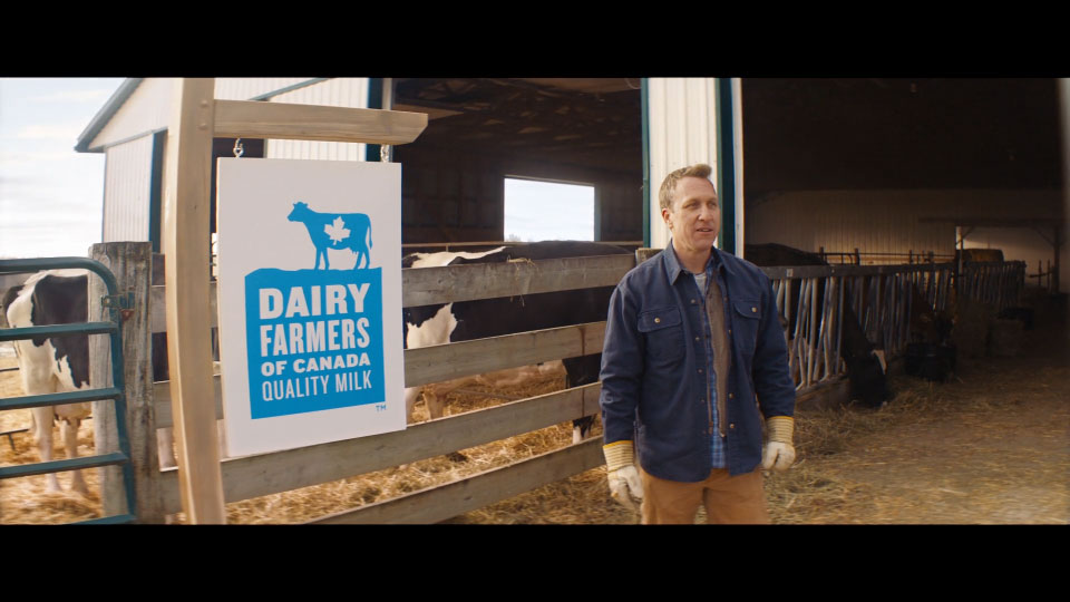 Dairy Farmers of Canada // a. DDB // e. Kyle McNair